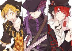 Osomatsu, Ichimatsu and Jyushimatsu Anime Boys, Cute Anime Guys, Manga Anime, Anime Art, Osomatsu San Doujinshi, Rock Festivals, Ichimatsu, Fnaf, Vocaloid