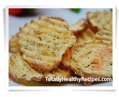 Healthy potato chips that are so easy to make! Make them savory, spicy or sweet!