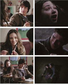 #TeenWolf 1x01/3x23 First and last Allison and Scott scenes