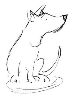 Exciting Learn To Draw Animals Ideas. Exquisite Learn To Draw Animals Ideas. Dog Line Art, Dog Art, Animal Sketches, Animal Drawings, Line Drawing, Drawing Sketches, Sketching, Elephant Quilt, Creature Drawings