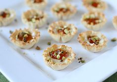 brie in phyllo cups