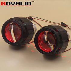 2.5 External Lights Lenses HID H1 Bi Xenon Projector Headlight Lens for H4 H7 Car Styling Motorcycle Retrofit Hi/lo Headlamps * Uznayte bol'she, posetiv ssylku na izobrazheniye.