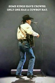 George Strait, the King of Country!