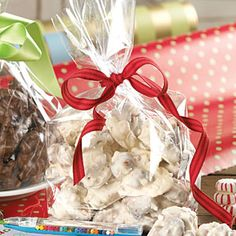 Decadent Chocolate Gifts for the Holidays | White Chocolate-Peppermint Jumbles | MyRecipes.com