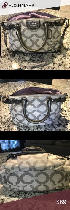 Coach Purse Coach Purse.  Good condition.  Minor stains inside due to use. Coach Bags