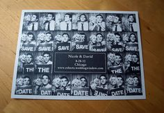 Photobooth Save the Date idea #2