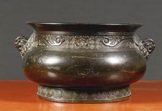 A BRONZE CENSER<br>17TH CENTURY | Lot | Sotheby's