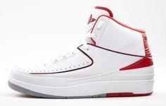 Air Jordan 2 Retro White Varsity Red