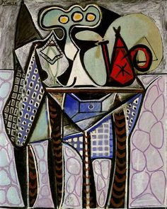 Still life on a table - Pablo Picasso