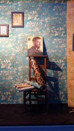Behang bij Behangersbedrijf Veltenaar / Wallpaper collection Van Gogh - BN Wallcoverings