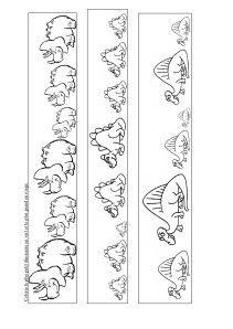 coloriage de la vallée des dinosaures à la préhistoire