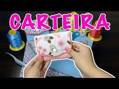 Carteira feita na máquina de bordar - YouTube