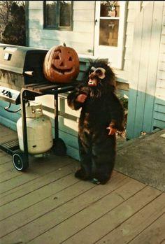 "johnzombi: "" Happy Halloween Werewolf johnzombi sends his regards """
