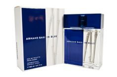 ARMAND BASI IN BLUE by Armand Basi Cologne for Men (EDT SPRAY 3.4 OZ) by ARMAND BASI IN BLUE. $23.75. Year Introduced: 2005. 100 % Genuine Fragrance.. Size: 3.4 OZ. Concentration: Eau De Toilette. 100% Authentic ARMAND BASI IN BLUE by Armand Basi Cologne for Men (EDT SPRAY 3.4 OZ). Manufactured by the design house of Armand Basi. ARMAND BASI IN BLUE for MEN possesses a blend of Mandarin, Grapefruit, Bergamot, Neroli, Lotus Flower, Hardwoods, Coriander leaves, Blackcurran...