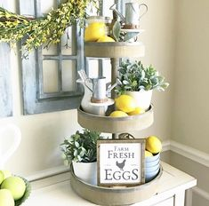Here's some decorating gold....ready? Go buy some lemons! A simple, inexpensive way to brighten up any space and great for so many yummy lemon recipes!