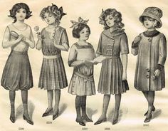 Antique Graphics Wednesday - 1900's Fashion Images - Knick Of Time