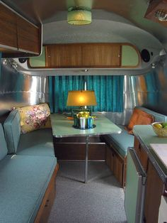 The finest vintage and custom Airstream aluminum classic travel trailers available anywhere by rebuilding retro Americana one rivet at a time. Airstream Caravans, Airstream Remodel, Airstream Renovation, Airstream Interior, Trailer Interior, Vintage Airstream, Vintage Caravans, Vintage Travel Trailers, Vintage Campers