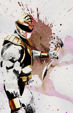 spyrale:White Ranger by Sean Anderson