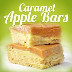 Delicious Caramel Apple Bars! This recipe is perfect for fall when there are apples everywhere! #GoetzeSome