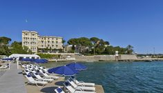 Juan Les Pins, Antibes, In The Heart, Europe, France, Park, Beach, Travel, Phoenix