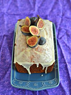 Tasty Fig Almond Tea Cake recipe is perfect for afternoon tea or for dessert