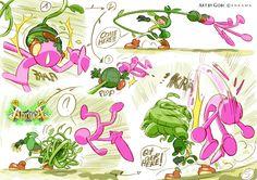 Novas artes de Bill Otomo e Gobi para o projeto Abraca, da Ankama | THECAB - The Concept Art Blog