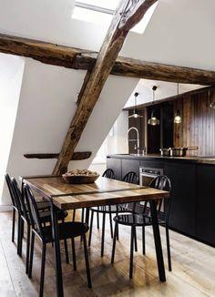 Black and wood /Martine Haddouche/