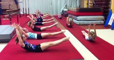 OMG my stomach muscles are aching just watching this video! If you ever wondered just how strong young gymnasts are, you just have to take one look at this video that shows a group of young girls doing this crazy core warm up to Beyonce's 'Who Run The World (Girls) to see that they are pretty darn... View Article