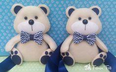 Teddy Bear, Toys, Animals, Baby Outfits, Bears, Ideas, Fasteners, Bear Felt, Animais