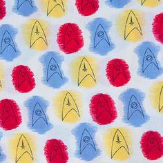 Star Trek Atomic Delta Pattern Infinity Scarf Additional Image