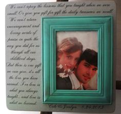 Personalized Wedding Frame 13 x 13 Gift by DellaLucilleDesigns, $50.00