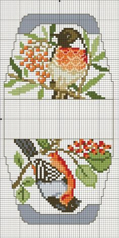 See cross stitch bird to complete blank space. No color chart… Cross Stitch Bird, Cross Stitch Borders, Cross Stitch Alphabet, Cross Stitch Flowers, Cross Stitch Charts, Cross Stitch Designs, Cross Stitching, Cross Stitch Embroidery, Cross Stitch Patterns