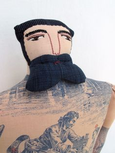 Tattooed Dolls by Mimi Kirchner  #tattoo #dolls