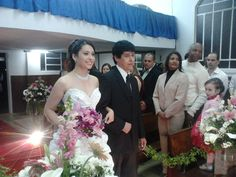 My beautifull bride Sabrina Mattos..Church Wesleyana of Itamarati. Petropolis - RJ l4-07-20l2