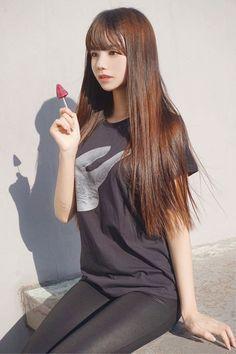 Cute Asian Girls, Beautiful Asian Girls, Cute Girls, Korean Beauty Girls, Asian Beauty, Photos Of Women, Girl Photos, Skinny Girl Body, Cute Young Girl