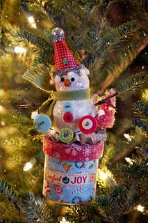 Words don't express how much we love Designer Linda Albrecht's snowman made with #GlueArts Adhesives and @October Afternoon  products!