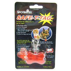 Spotbrites Safe-T-Tag Bone LED
