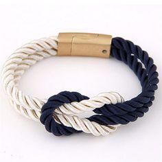 Newest Trendy Vintage Multilayer Rope Chain Bracelets&Bangles For Women Men Fashion Friendship Charm Bracelets Anchor Jewelry - 1