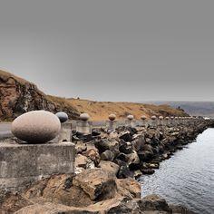 Eggs by the water's edge, Djúpivogur, Iceland, 2013, photograph by Monica Palomo.