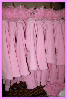 spa party Robes great in any colors order yours today for your spa Party #spaparty www.quietwhispersmobilespa.com #centralFlorida