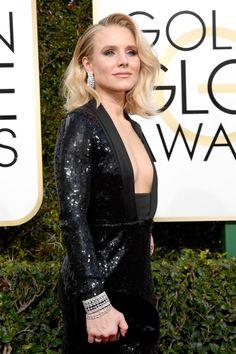 Hero Amongst Women Kristen Bell Wore Butt Pads to the Golden Globes