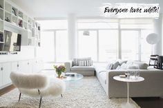 Home design, interviews and DIY tips from real Homepolish projects via our in-home interior designers in NYC, LA, SF cities and nationwide by video. Home Living Room, Living Room Decor, Living Spaces, Living Area, Dining Room, Loft Design, House Design, Design Model, Feminine Apartment