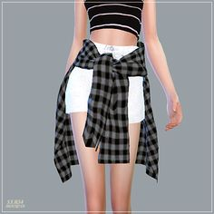Sims 4 CC's - The Best: Hot Pants With Shirts by Marigold