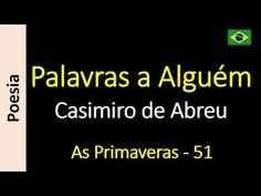 Casimiro de Abreu - 51 - Palavras a Alguém