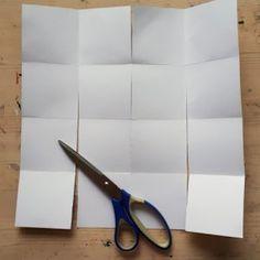 handleiding miniboekje | Heldenreis Diy Notebook, Mixed Media, Scissors, Notebooks, Collages, Montages, Collage, Bicycle Kick, Diy Laptop