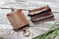 Leather Key Case Leather Key Holder Leather Key-holder by RedKlen