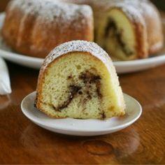 Nutella Swirl Bundt Cake #Bundtamonth