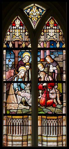 Haren, NL  klooster Bethlehem  Frans Nicolas en Zonen  www.kerkramen.nl