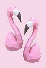 Paper Kit / Flamingo Duo
