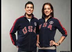 Team USA: Steven and Diana Lopez
